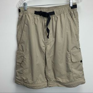 3/$30 SALE—GUIDE GEAR CARGO SHORTS SIZE 34-stained